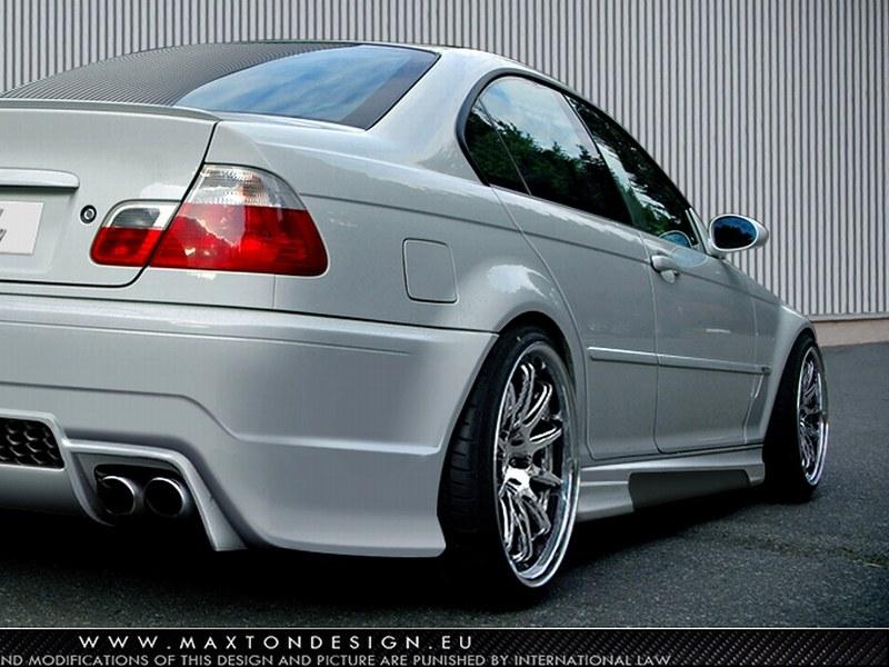 Dokładki Progów BMW 3 E46 4D Saloon < Generation V > - GRUBYGARAGE - Sklep Tuningowy